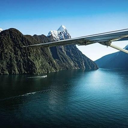 It's no surprise Milford Sound is nicknamed the 8th wonder of the world 😍 • 📷: @annasnydr • #milfordsoundscenicflights#newzealandguide #destinationnz#ig_newzealand #travelnz #nzmustdo#nz #newzealand #southisland#newzealandfinds#newzealandvacations #purenz#purenewzealand #kiwipics#kiwi_photos #realmiddlearth#lifeofnewzealand#wonderlustnewzealand#wanderlustofnz #bestnewzealand#goNZ #earthpixnz#queenstownholidays #gottalovenz#newzealandnatural