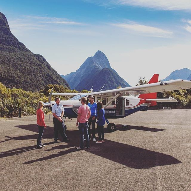 Have you seen Milford from above? #MilfordSoundScenicFlights #Adventure #DestinationNZ #NZSummer #MilfordSound