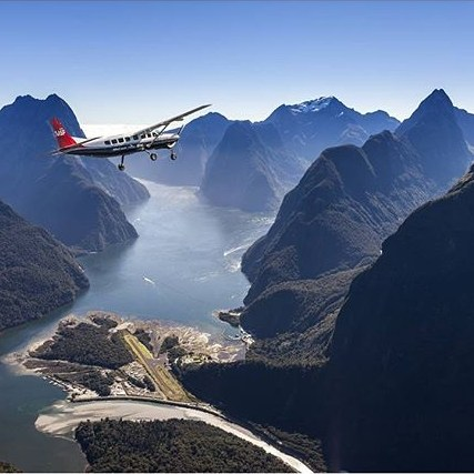 The most incredible way to arrive in Milford Sound