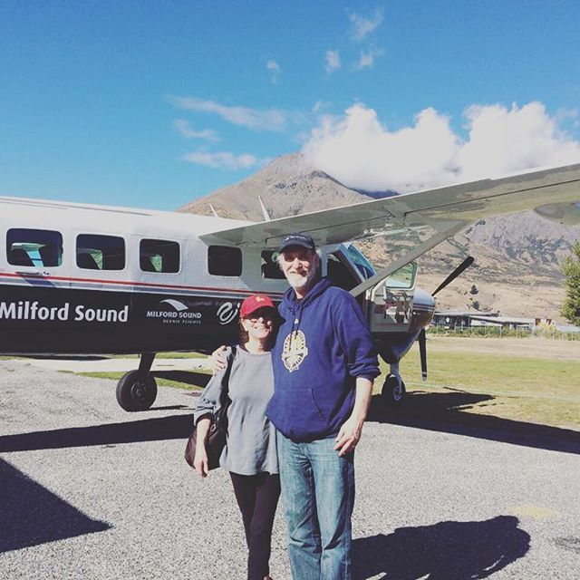 More happy customers this week - what a trip they had!  #MilfordSoundScenicFlights #Adventure #DestinationNZ #NZSummer #MilfordSound