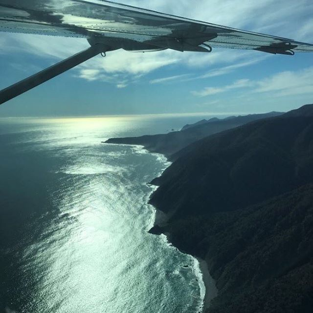 What a morning we've had... The stunning Tasman coastline as we approach Milford Sound - Wow Just WOW!