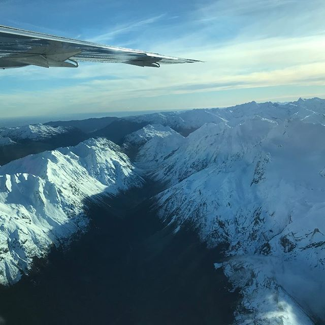 Breathtaking views flying out of Queenstown today... who else has done the flight to Milford Sound?  #milfordsoundscenicflights #milfordsound #nzmustdo