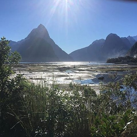 The magic of Milford Sounds Mitre Peak, on a stunner day! 📷 @tessasianstokes